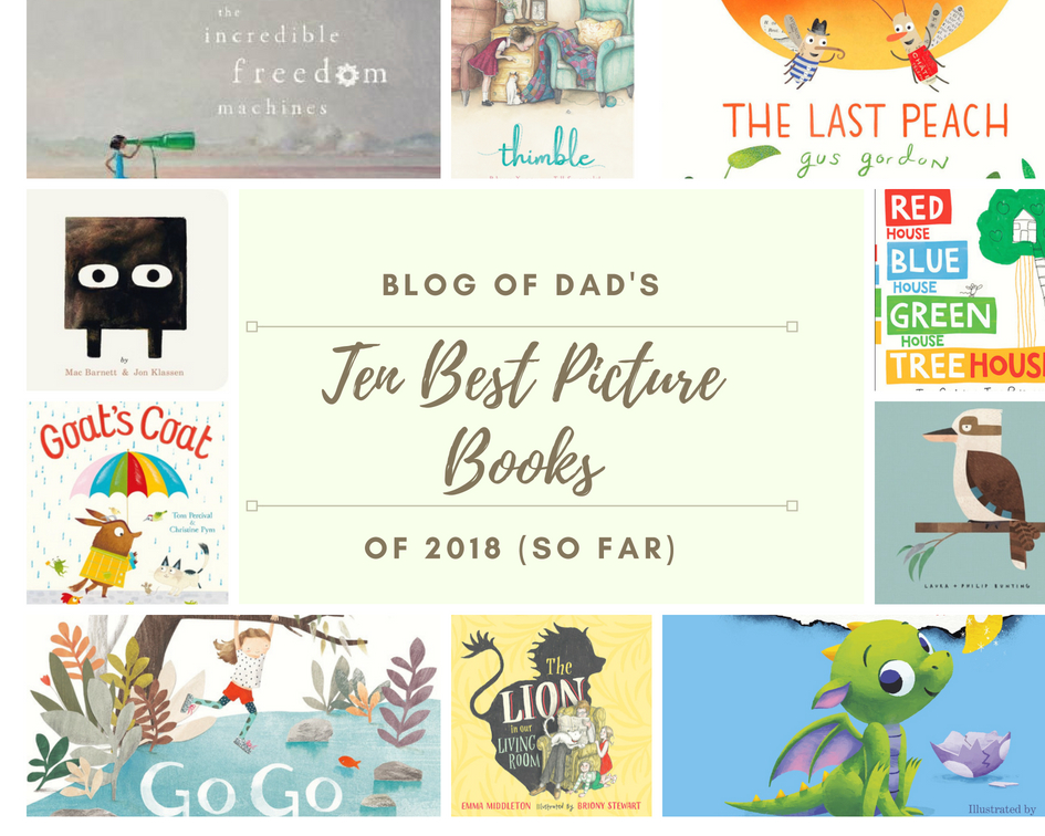 Top Ten Picture Books of 2018